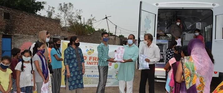 Distribution of Medical Kits